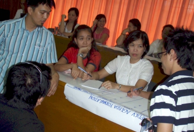 Training Workshop at the LGA TC in Los Banos Philippines