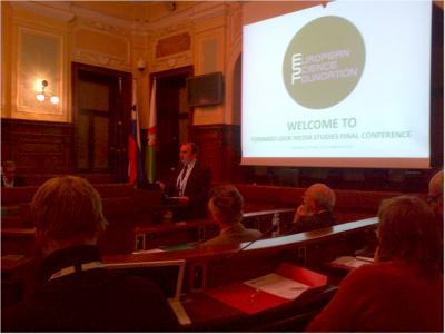 New Media and New Literacies Conference at Ljubljana City Hall.