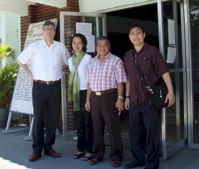 Visiting the University of Northern Philippines in Vigan