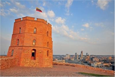 Gedimas Tower in Vilnius