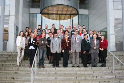 Project partners in SAILS meeting in DCU