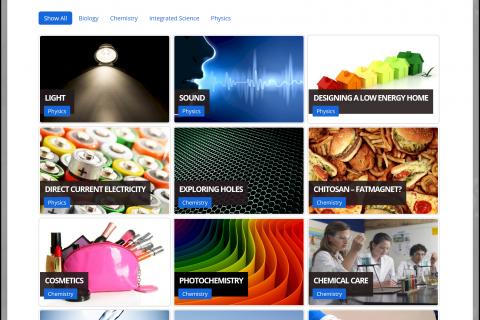 The award winning ESTABLISH web site