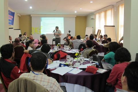 Knowledge Exchange Workshop at the Indonesian BNPB, UGM