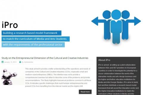 iPro website screenshot