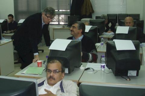 Workshop in Jordan